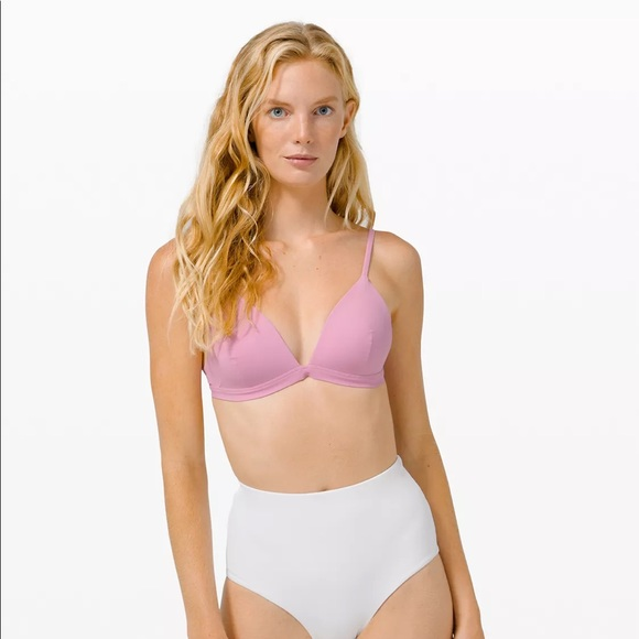 Lululemon deep sea swim top A/B bikini